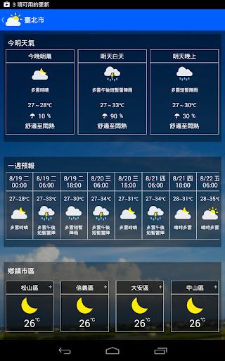 KNY台灣天氣.地震速報 screenshot 11
