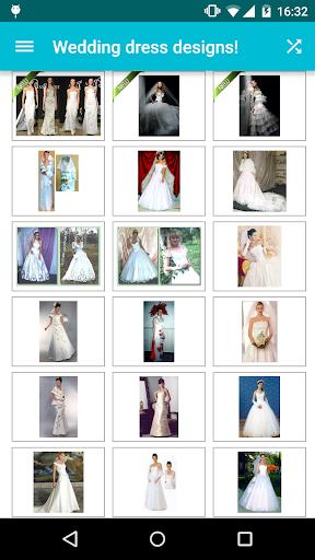 Wedding dress designs! screenshot 1