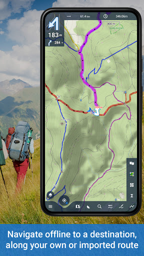 Locus Map 4: Hiking&Biking GPS navigation and Maps screenshot 3