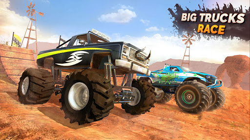 Monster Truck Ramp Stunts OffRoad Car Racing Game screenshot 4