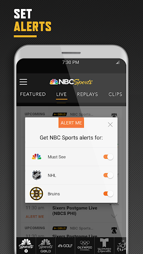 NBC Sports screenshot 4