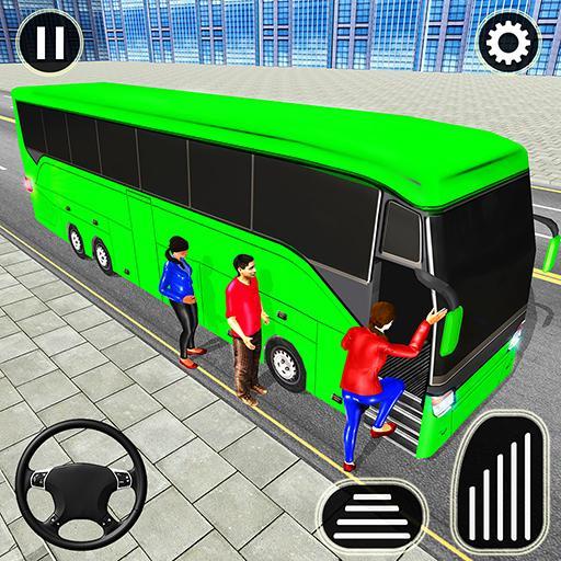 الباص ألعاب ٢١ : مدينة مدرب حافلة القيادة محاكاة أيقونة
