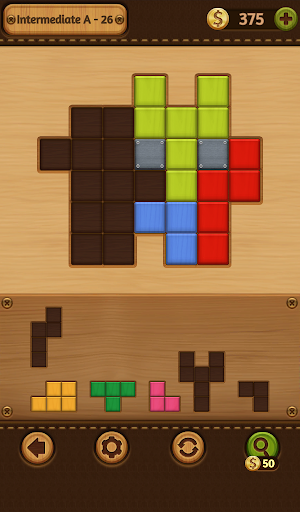 Block Puzzle Games: Wood Collection 6 تصوير الشاشة