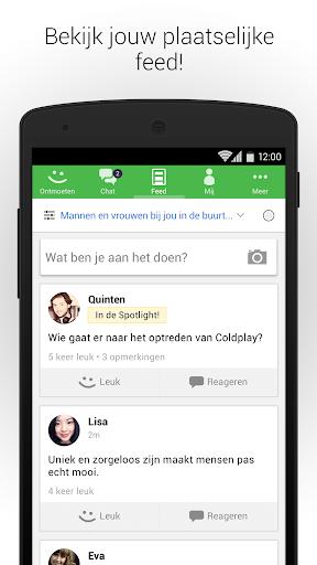 MeetMe - Chat live & ontmoet nieuwe mensen! screenshot 4