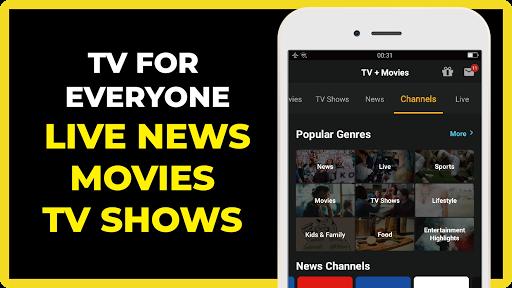 FREECABLE TV App: Free TV Shows, Free Movies, News 3 تصوير الشاشة