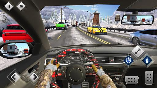 الطريق السريع القيادة سيارة سباق لعبه سيارة ألعاب 2 تصوير الشاشة