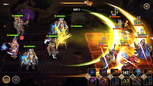 Fantasy League: Strategi RPG berbasis giliran screenshot 2