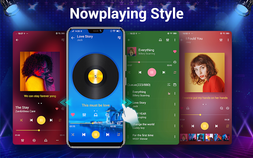 Music player - 10 bands equalizer Audio player screenshot 12