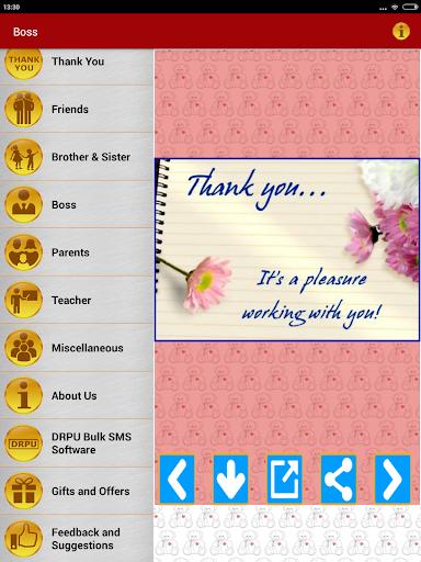 Thank You Greeting Card Images screenshot 14