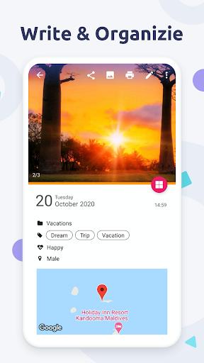 Diaro - Diary, Journal, Mood Tracker with Lock screenshot 4