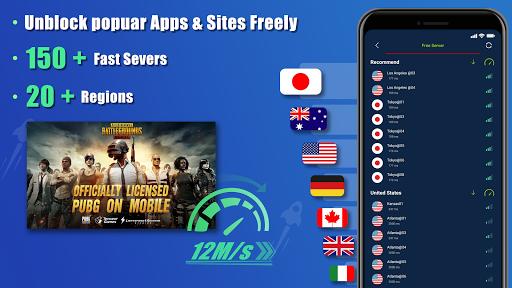 Free VPN SecVPN: Fast Unlimited Secure Proxy स्क्रीनशॉट 1