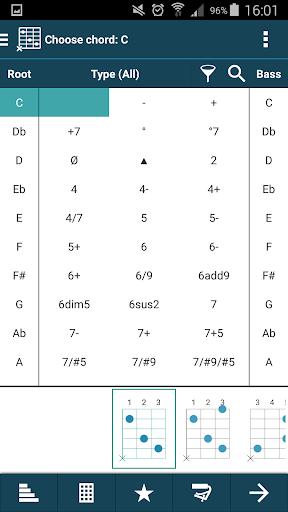 smart Chord & tools (гитара,.. скриншот 2
