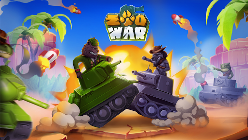 Zoo Games War: Battle Royale online 1 تصوير الشاشة