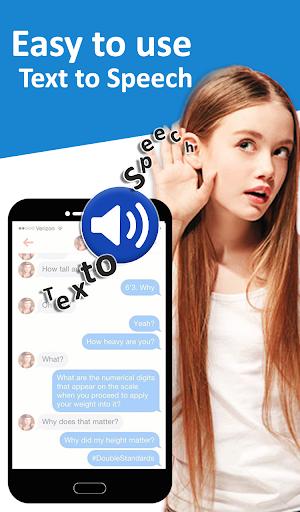 Text to Speech (TTS) - Text Reader & Converter 1 تصوير الشاشة