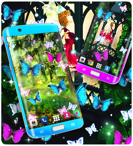 Magical forest live wallpaper screenshot 6