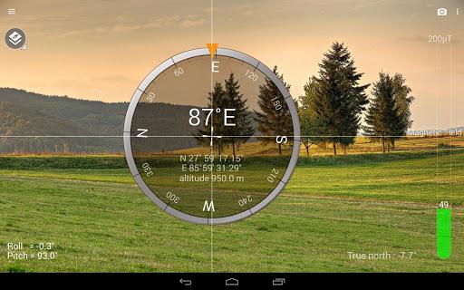 البوصلة : Smart Compass 8 تصوير الشاشة