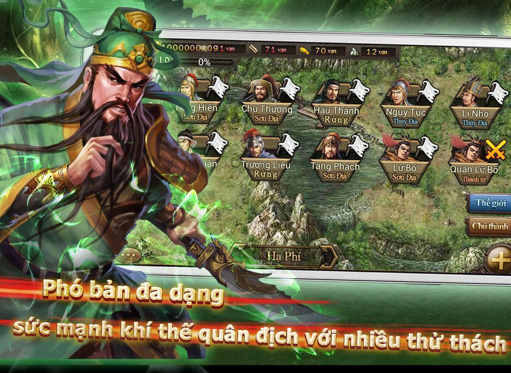 Bá Chủ Tam Quốc – CTXĐ screenshot 15