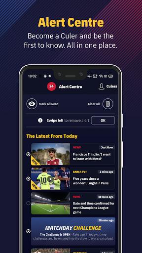 FC Barcelona Official App 4 تصوير الشاشة