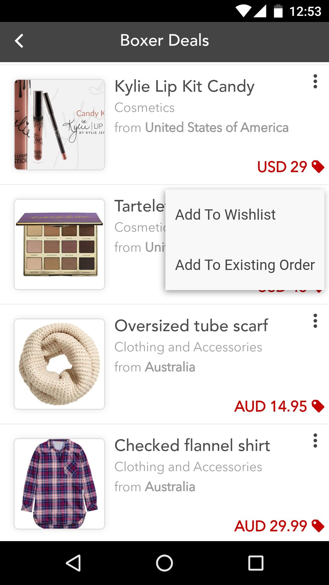 ShopandBox screenshot 4