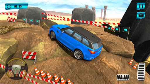 Offroad Mountain Car Parking screenshot 4