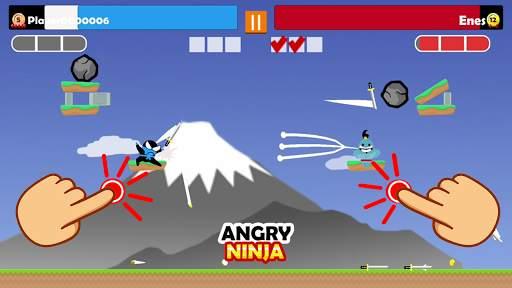 Jumping Ninja Party 2 Player Games screenshot 5