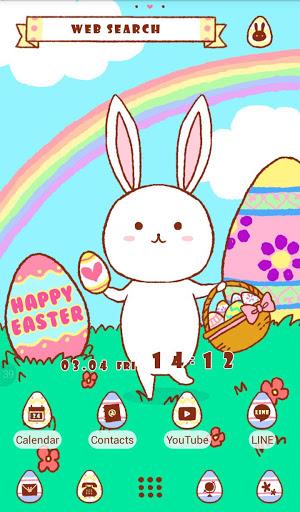 خلفيات وأيقونات Easter Bunny 5 تصوير الشاشة