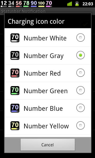 Battery Widget Icon Pack 4 screenshot 2