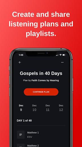 Bible - Audio & Video Bibles screenshot 1