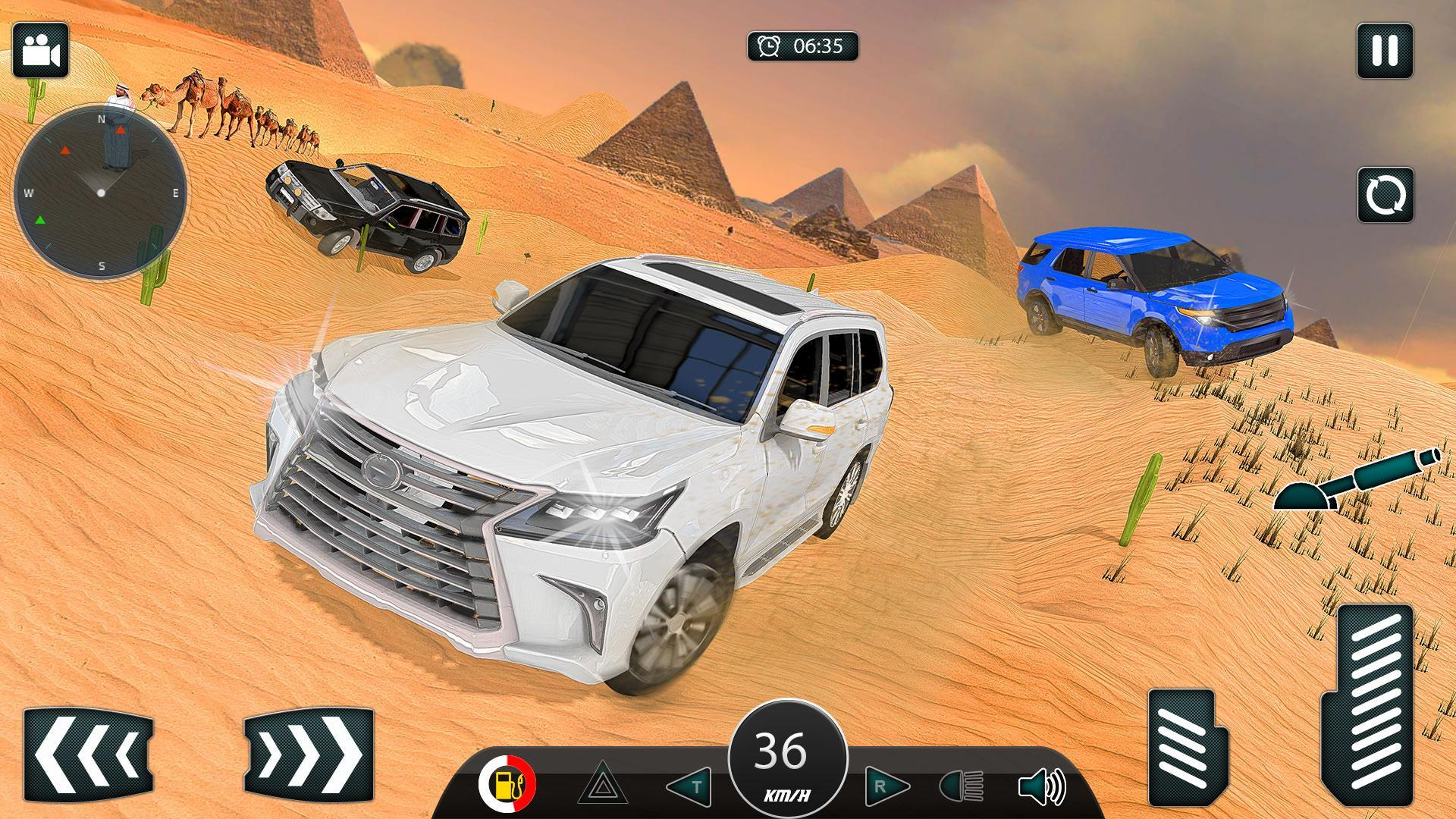Luxury LX Prado Desert Driving screenshot 9