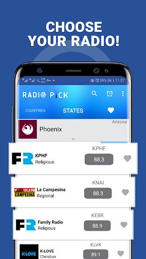Radio Pick - AM FM Free screenshot 4