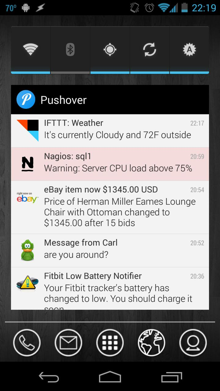Pushover screenshot 4