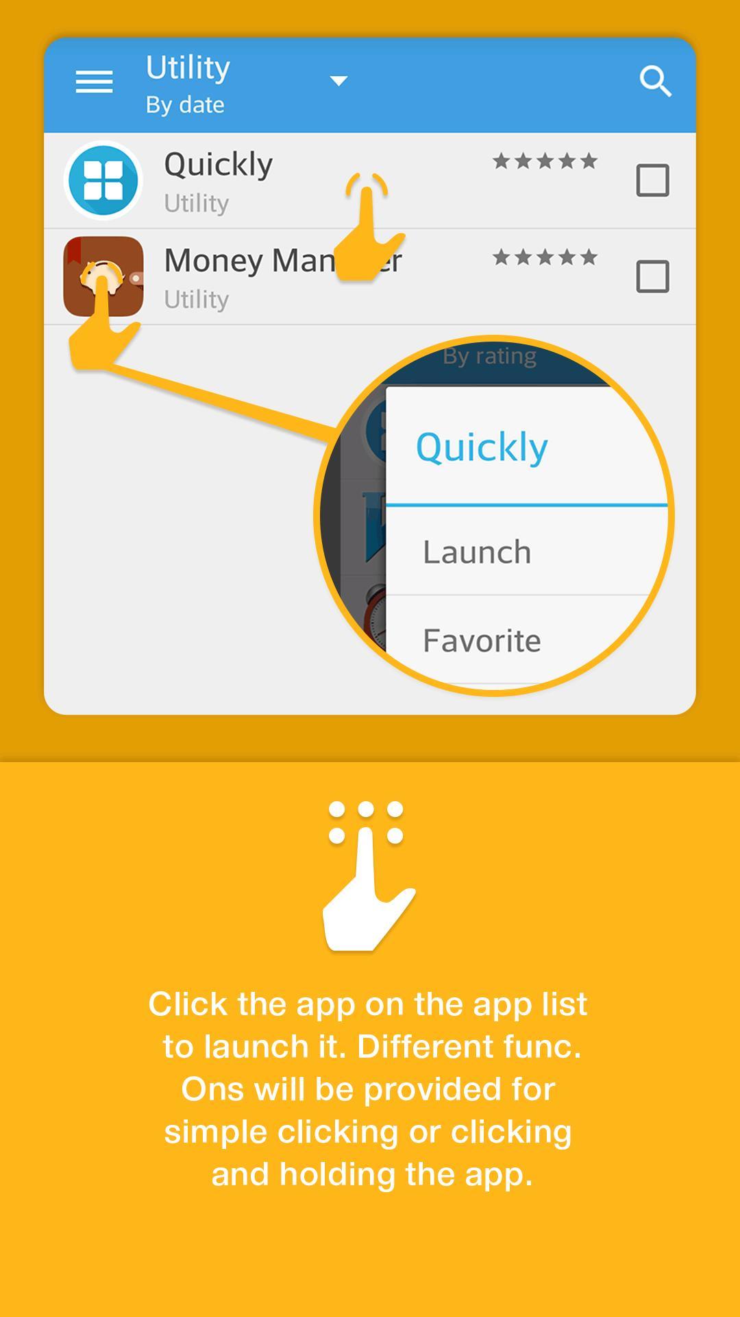 Notification Bar Launcher 2 تصوير الشاشة