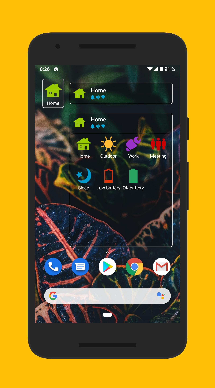 Phone Profiles 6 تصوير الشاشة