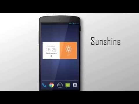 Z Style Weather Widget 1 تصوير الشاشة
