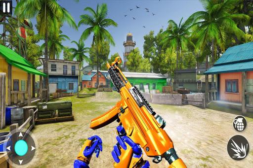 Counter Terrorist Robot Game: Robot Shooting Games screenshot 1