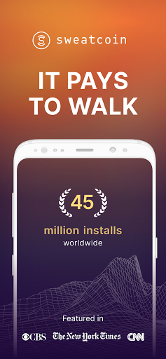 Sweatcoin — Walking step counter & tracker screenshot 1