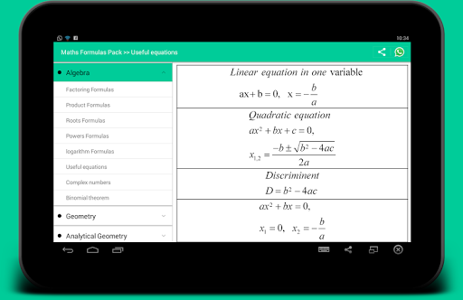 All Math formula screenshot 7