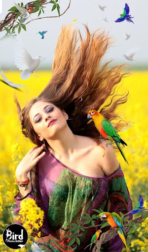 Bird Photo Editor screenshot 1