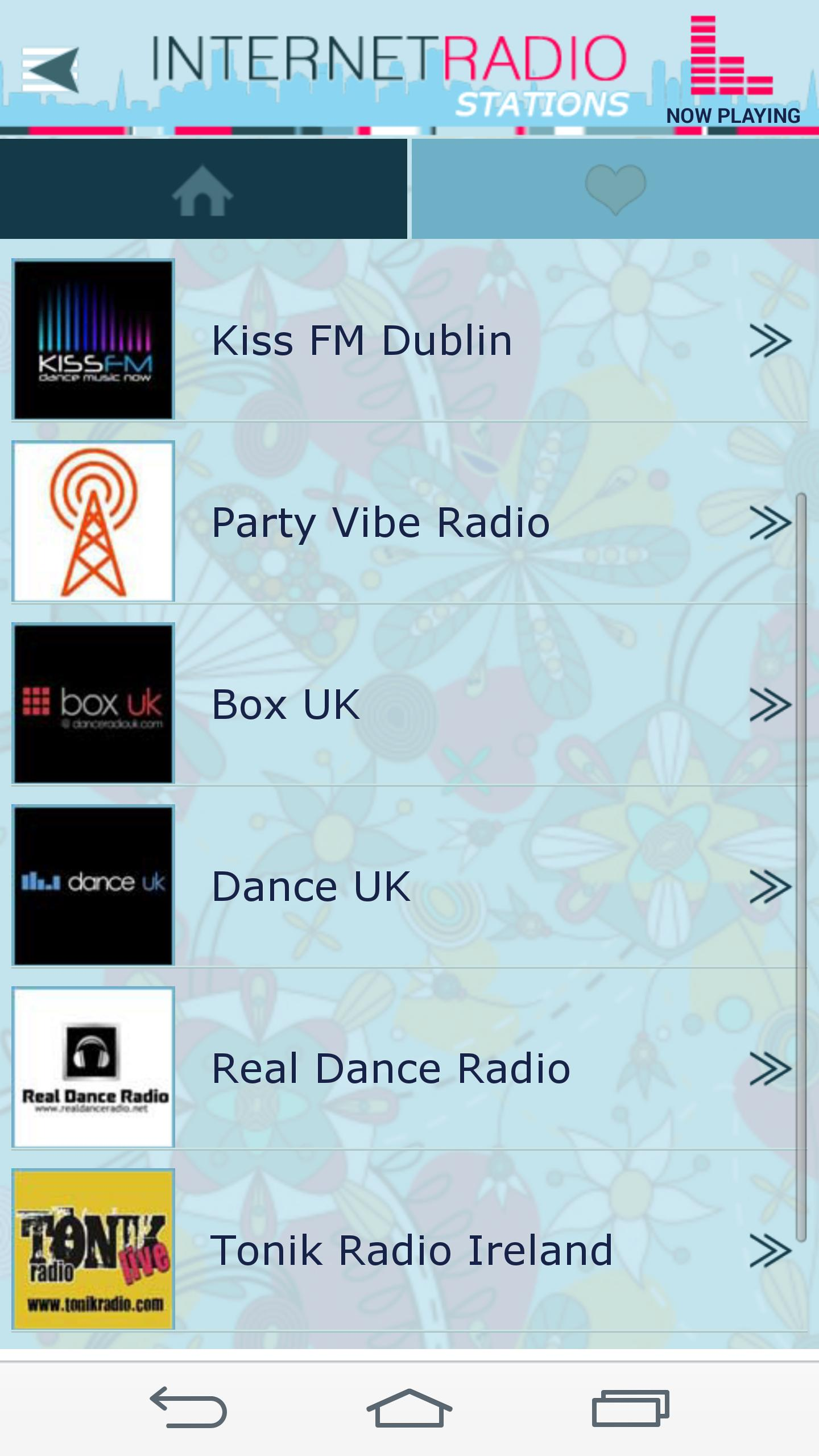 Internet Radio Stations screenshot 2