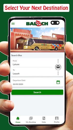 Baloch Transport - Online Ticketing screenshot 3