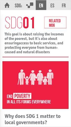 Sustainable Development Goals screenshot 2