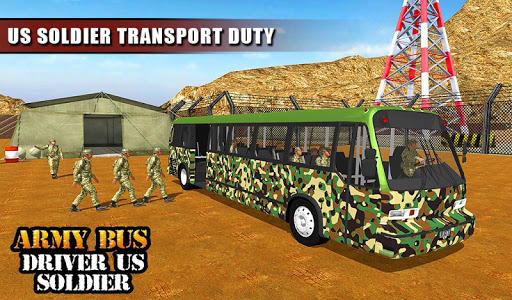 Army Bus Driver 2021:Real Military Coach Simulator screenshot 12