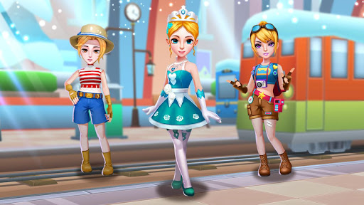Subway Princess Runner скриншот 8
