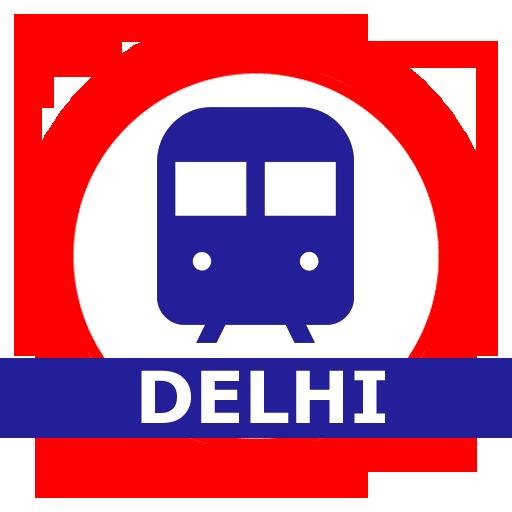 Delhi Metro Route Map and Fare أيقونة
