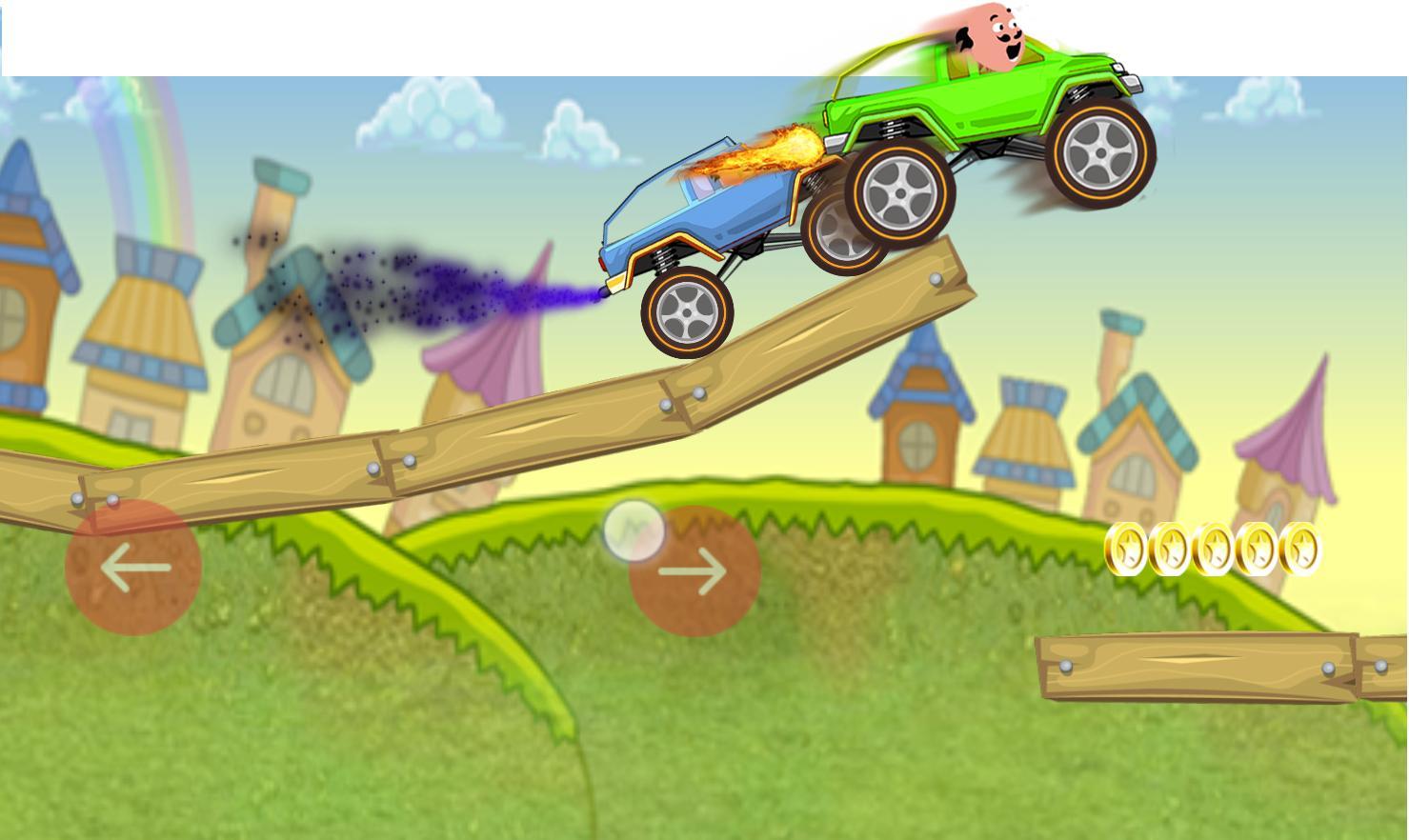 Motu Racing: Hill climb truck race patlu 10 screenshot 1