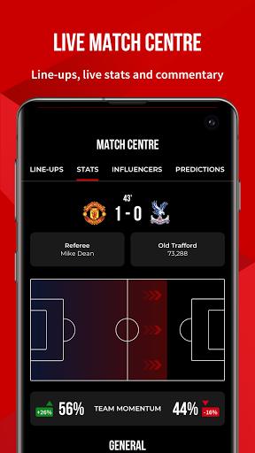 Manchester United Official App 2 تصوير الشاشة
