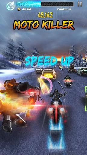 Death Moto 5 : Free Top Fun Motorcycle Racing Game screenshot 1