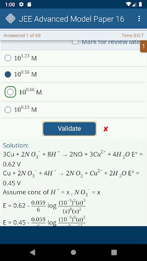 JEE Advanced Model Papers Free screenshot 4