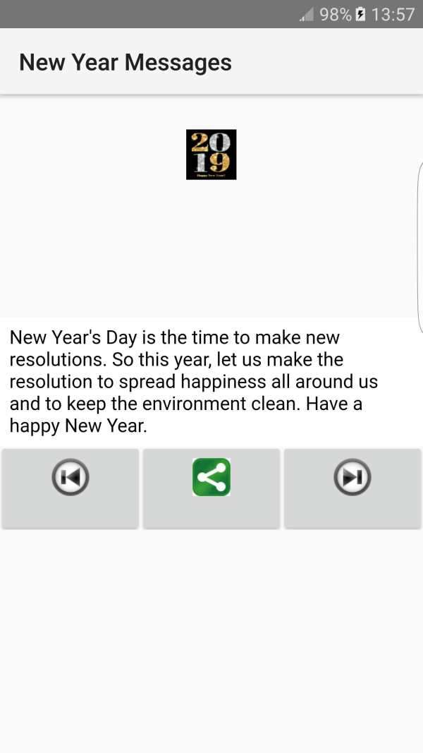 2019 New Year Messages screenshot 6