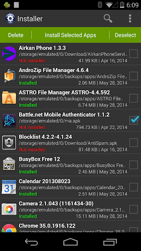 Installer - Install APK screenshot 1